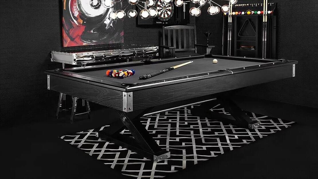 American Heritage Acero pool table