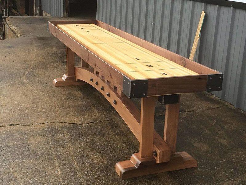kush outdoor shuffleboard table